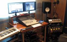 Estúdio de produção musical