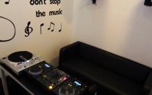 Sala de discotecagem