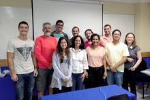 Alunos da turma de Produção de eBooks com InDesign - Maio de 2015